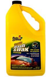 Rain washandwax